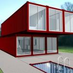 Prefab Friday Lot Container Home Kit Chk