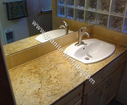 Prefab Granite Bathroom Countertop