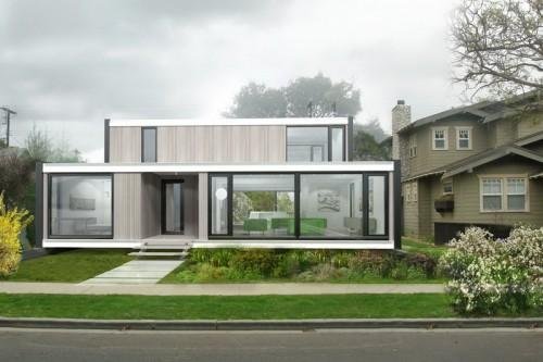 Prefab Green Homes Glass Design