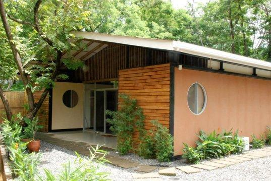 Prefab Housing Bamboo Building Material Shipping Container Homes