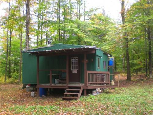 Prefab Hunting Cabins Adksrealty Acres Secluded