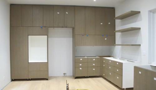 Prefab Kitchen Cabinets Custom Model