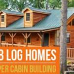 Prefab Log Homes Cheaper Cabin Building