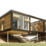 Prefab Modern Homes Prefabricated Home Stacked