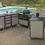 Prefab Outdoor Kitchen Kits Completed Sink