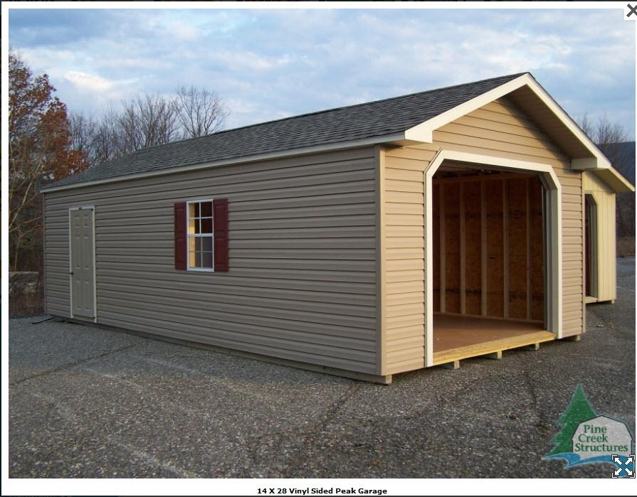 Prefab Wood Garage Metal