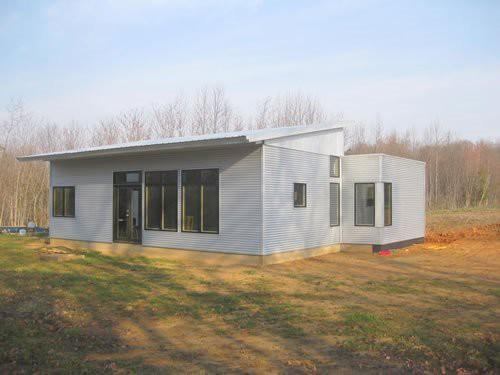 Prefab Zero Off Grid Sips House Kit Getting Ready Open