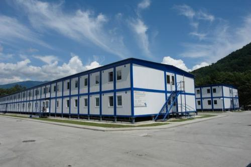 Prefabricated Building Buildings Modular Commercial