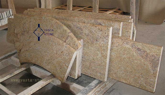 Prefabricated Countertops Madura Gold Bar