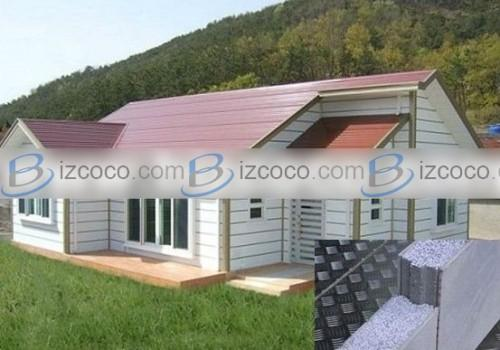 Prefabricated Expanded Polystyrene Concrete Wall Exterior Interior