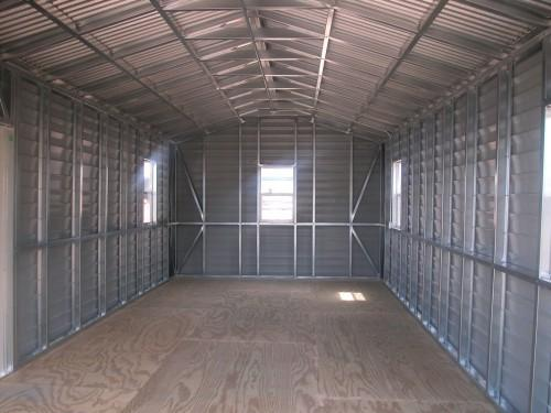 Prefabricated Gable Steel Shed Car Storage Sheds Buildings