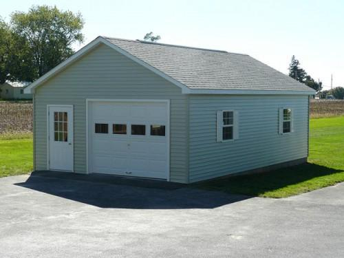 Prefabricated Garage Colors Options
