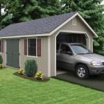 Prefabricated Garage Perfect Storage Solution One Car