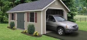 Prefabricated Garage Single Garages