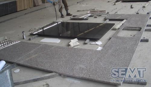 Prefabricated Granite Kitchen Countertops