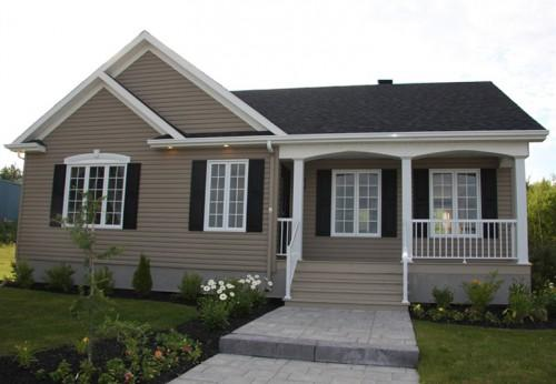 Prefabricated Home Sale Turquoise Sherbrooke Estrie