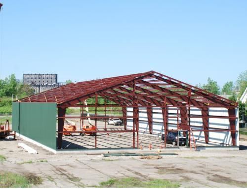 Prefabricated Metal Building Installer