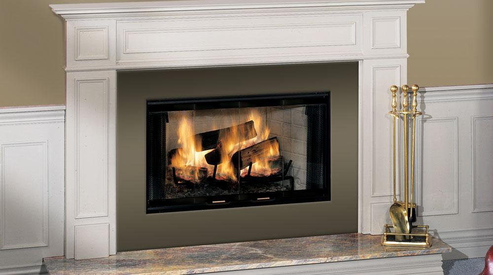 Prefabricated Zero Clearance Fireplace Traditional Style