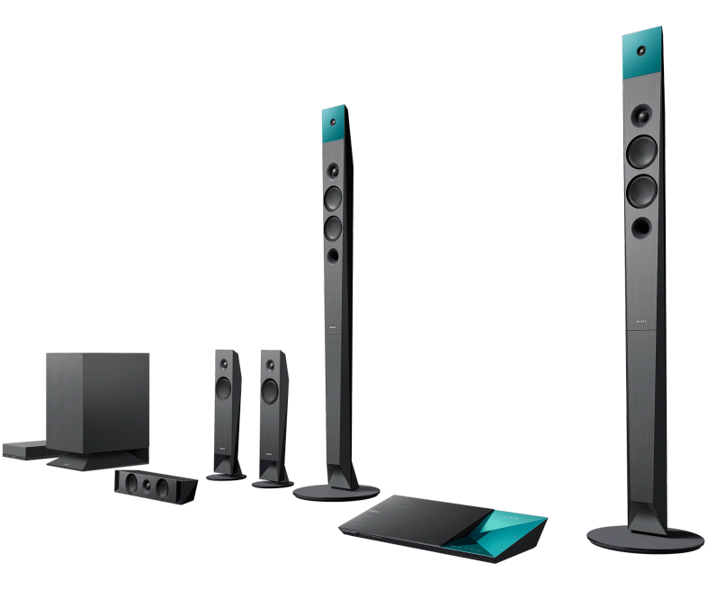 Premium Blu Ray Home Theater System