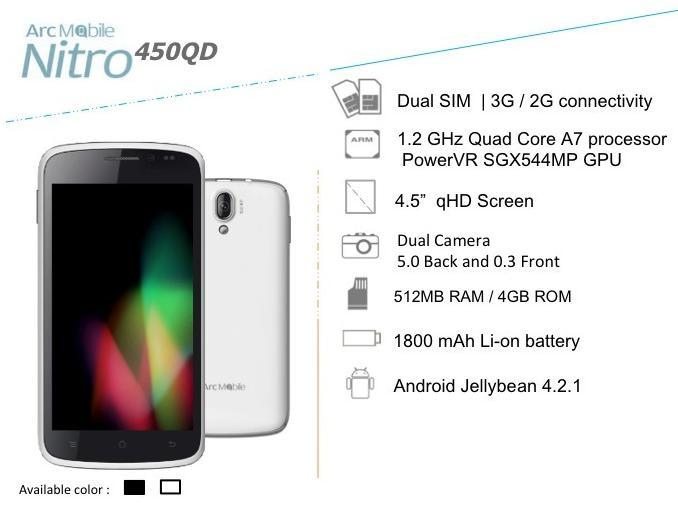 Price List Arc Mobile Android Phones Tablets