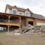 Profile Hand Hewn Everlog Concrete Log Siding Color Golden