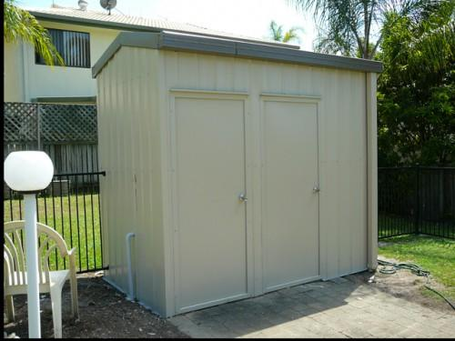 Pump Chemical Storage Shed