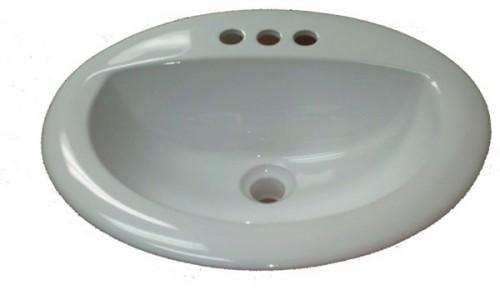 Qty Mobile Home Oval White Ceramic Sink Those