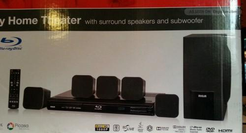 Rca Home Theater System Blu Ray