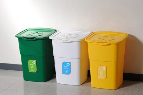 Recycling Containers Curbside Bins Home Apartment