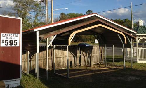 Red Barn Metal Carports Completely Customizable