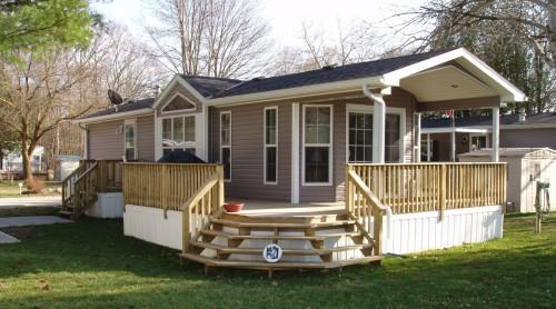 Regina Single Wide Open Concept One Bedroom Small Computer