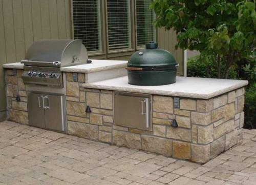 Related Advantages Prefab Outdoor Kitchen Kits
