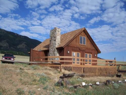 Remote Cabins Sale Wyoming Real Estate Listings Boat