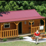 Rent Own Amish Built Log Cabins Now Available