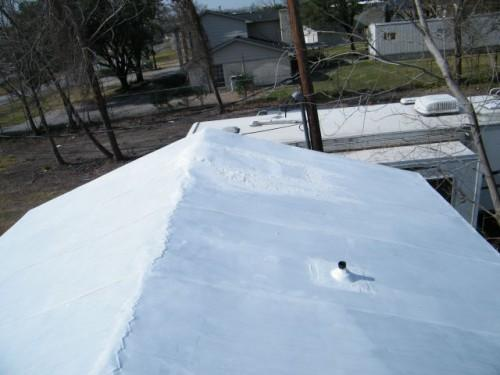 Repairing Mobile Home Metal Roof
