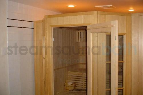 Residential Sauna Commercial Pre Fab Modular Room Kit