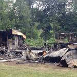 Road Trailer Home Explosion Leveled Pleasant