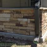 Rock Mobile Home Skirting Pic Fly Stone