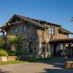 Rocky Mountain Homes Timberframe Rustic Exterior
