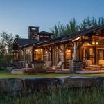 Rocky Mountain Log Homes Timber Frame Twilight Rustic Exterior