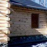 Round Flat Logs Wholesale Log Homes