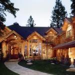 Rustic House Design Log Cabin Homes Interior