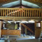 Rustic Log Home Moved Valley Canning Nova Scotia