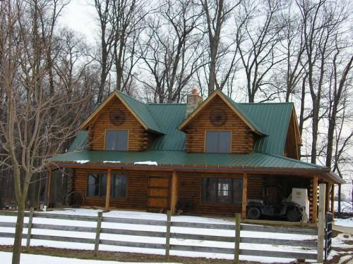 Rustic Log Home Style