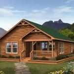 Sale Prefabricated Log House Wooden Villa Cheap Prefab Homes