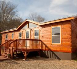 Log Cabin Mobile Home