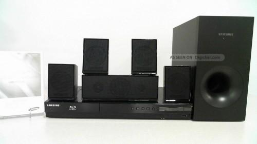 Samsung Channel Home Theater System Blu Ray Hdmi