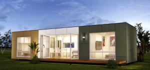 San Marino Two Bedroom Prefab Container Home Modern