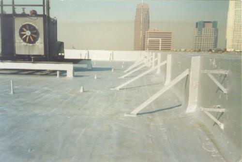 Sani Tred Roof Systems Flat Low Pitch Roofs Provides