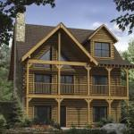 Satterwhite Log Homes Dogwood Home Plan Ext